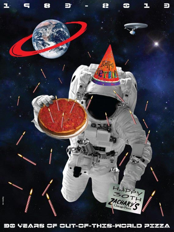 30 Years of Out of This World Pizza, Ian Ransley, 2012