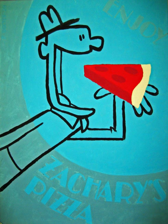 Enjoy Zachary's Pizza, Pete Docter
