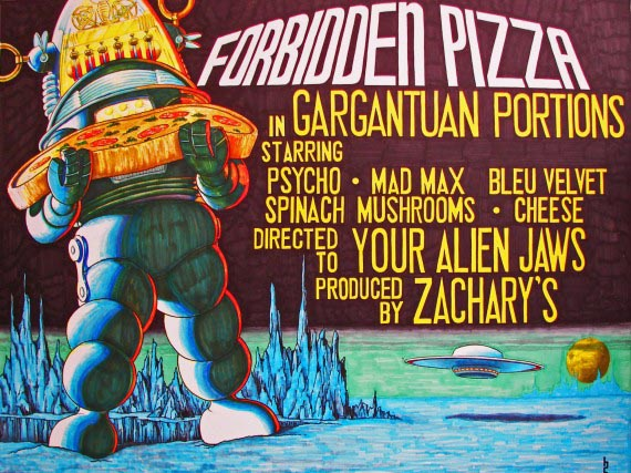 Forbidden Pizza, Bill Crews, 2009