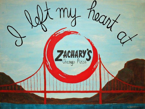 I Left My Heart at Zachary's, Kirstin Ineich, 2012