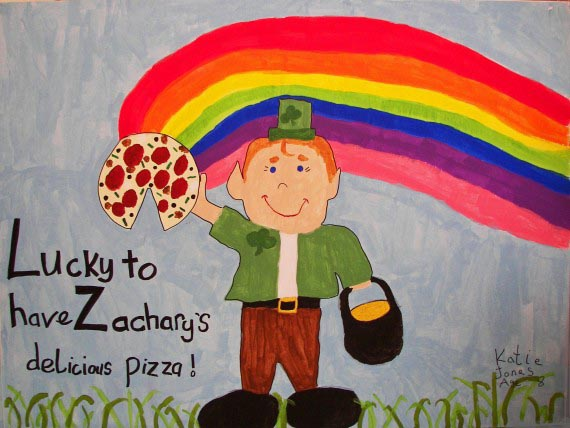 Lucky Leprechaun, Katie Jones, age 8