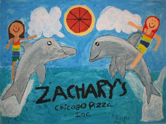 Pals and Dolphins, Elena Schuster, 2012, age 9