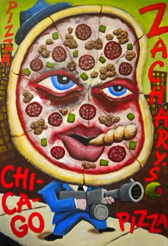 Pizza Gangter, Chris Papa, 2001