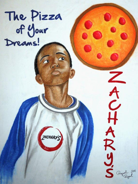 The Pizza of Your Dreams, Raquel Royal, 2011