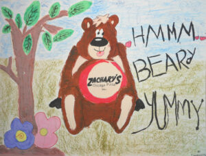 Zachary's is Beary Yummy in My Tummy, Isabelle Chiu, 2011, SR, 8