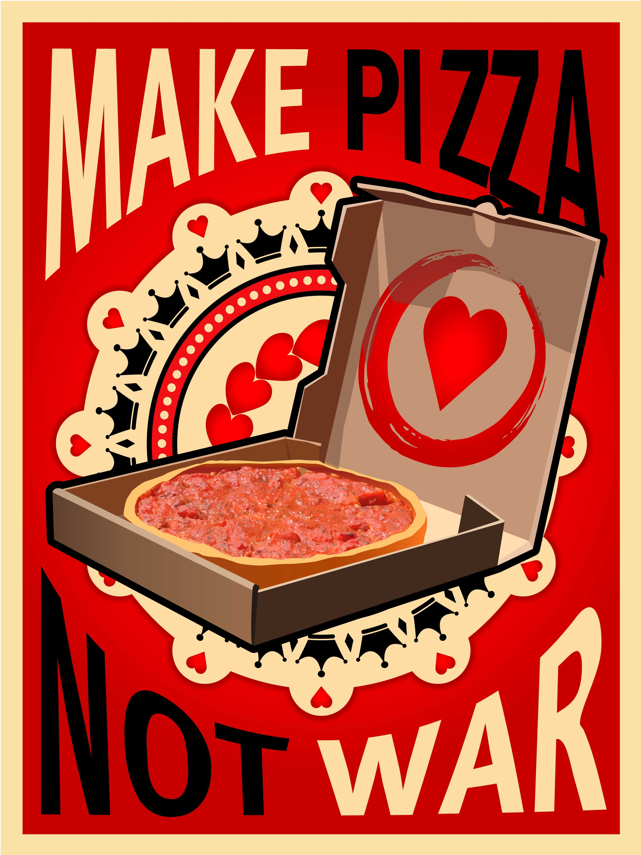 Zachary S Chicago Pizza Art Contest East Bay Area S