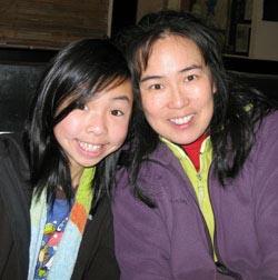Cindy Chan and daughter Marisa Ling