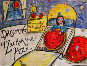 Dreaming of Zachary's Pizza, Lauren Ari, 2009