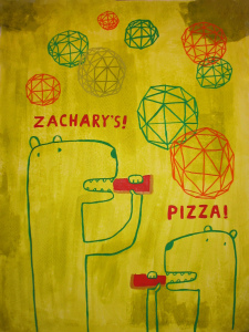 C, Bears and Geometry, Jon Shibata, 2012