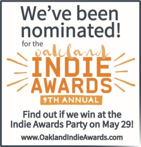 Oakland Indie Awards logo