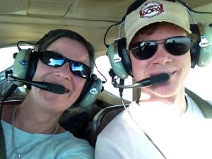 dad and son pilots